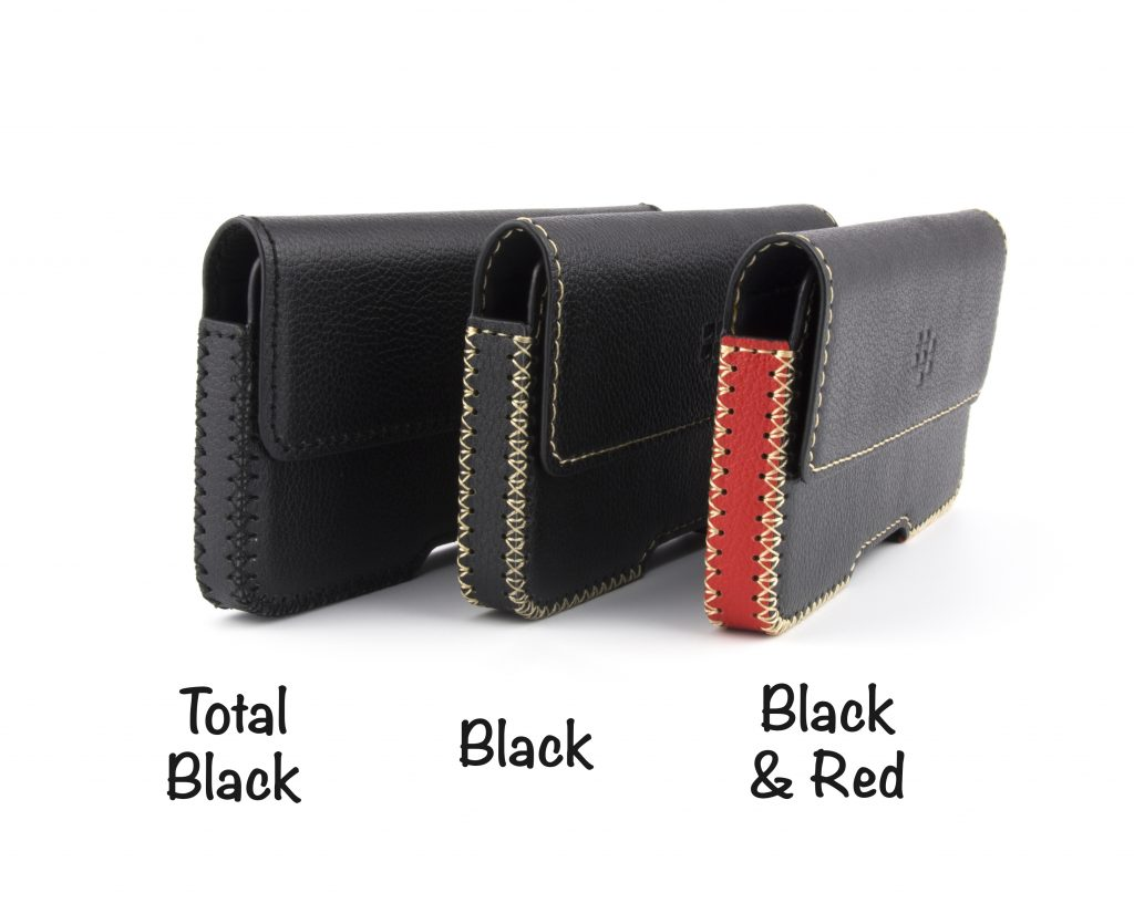 Blackberry Key2 Leather Belt Case - Three finishes